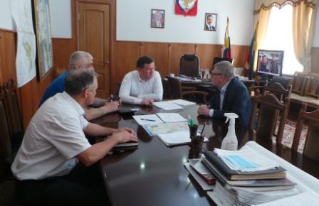 Встреча с Главой  Района